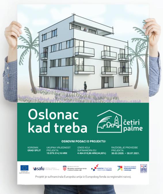 Ponosni na Grad Split i Četiri palme za korisnike koji napuštaju Maestral 😀