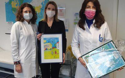 Cijepljenje protiv korona virusa djelatnika i nekoliko punoljetnih korisnika Dječjeg doma Maestral