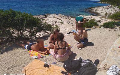 Za kraj ljeta smo otišli na kupanje u Primošten…